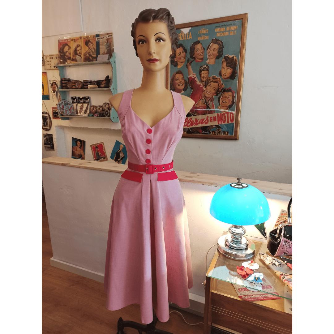 Vestido La Vie En Rose
